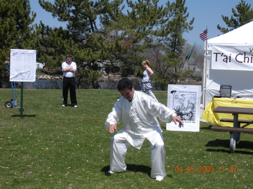 Master Zhang in 2009 at Waterford Park