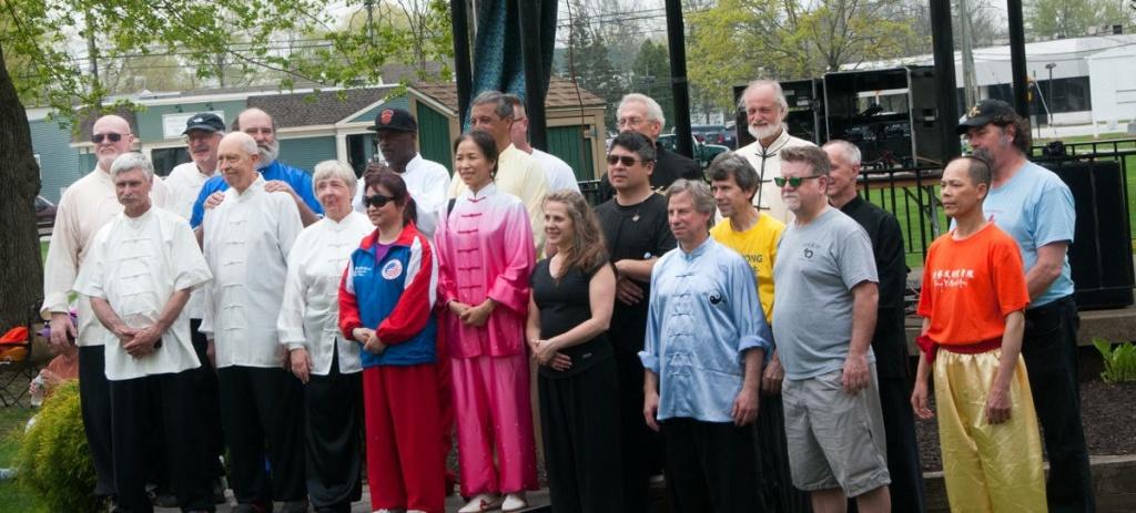 Teachers Presenting Free Tai Chi & Qigong CT World Tai Chi & Qigong Day in CT.  Group Mug!