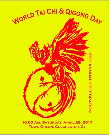CT World Tai Chi Day 2017 logo